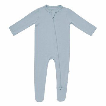 Kyte Clothing Kyte: Zipper Footie - Fog