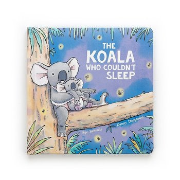 Jellycat The Koala Who Couldn't Sleep Book