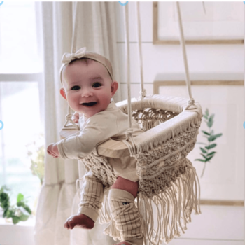 Baby Macrame Swing