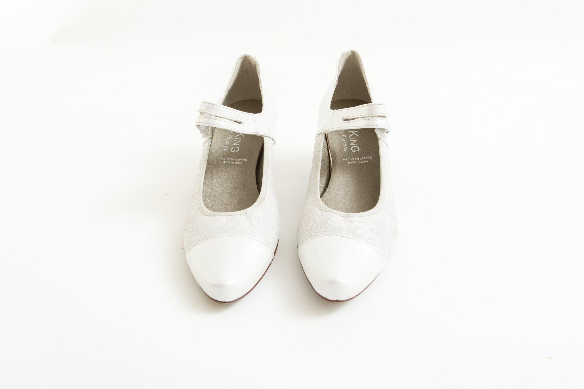 White Mary-Jane