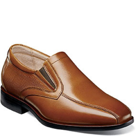 Dress Shoe with Perforated Heel Detail