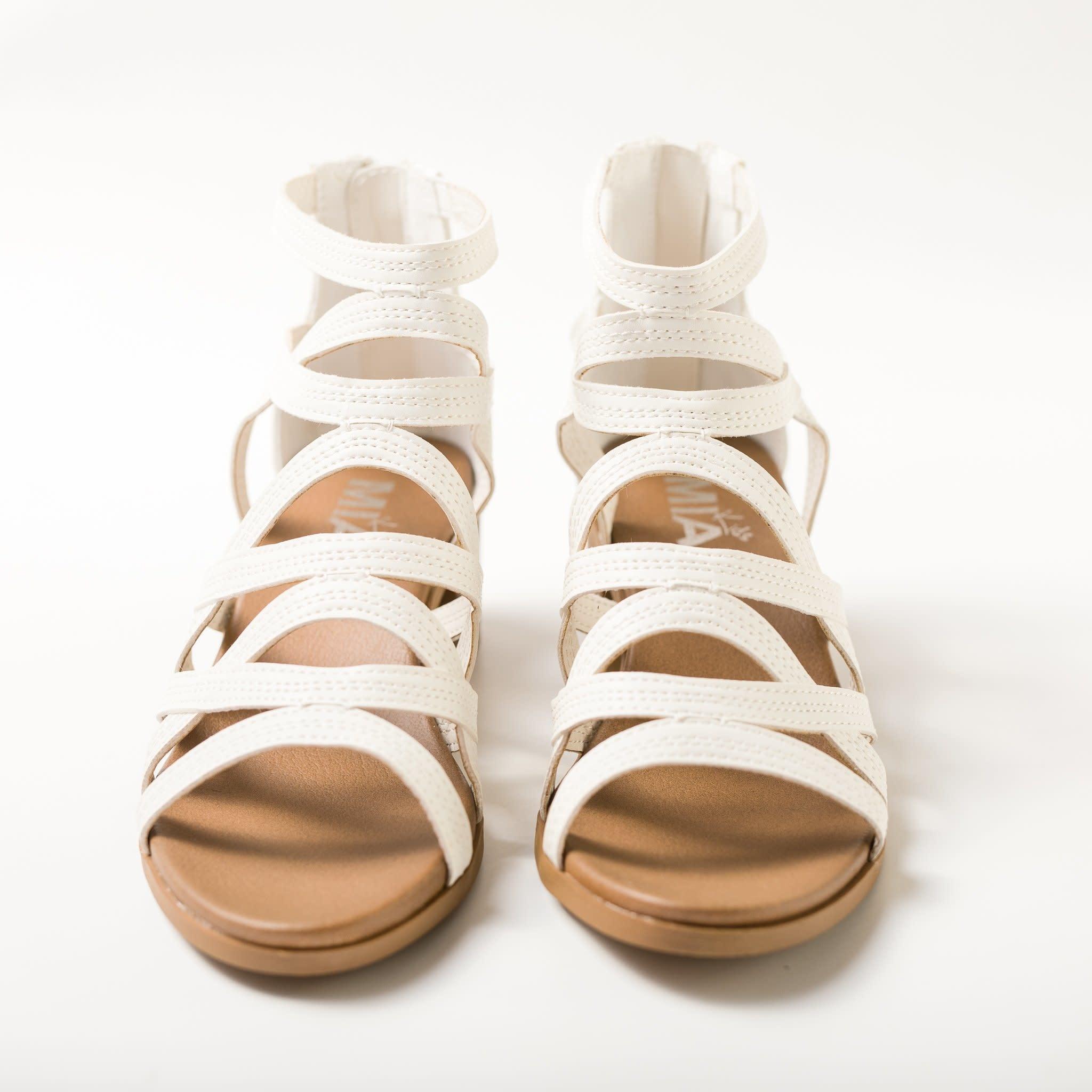 Lainey Sandal - White