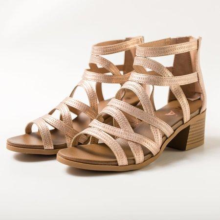 Laney Sandal - Rose Gold