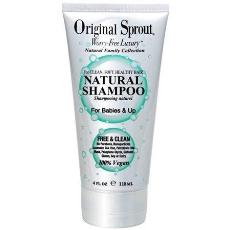 Natural Shampoo - 4 oz.
