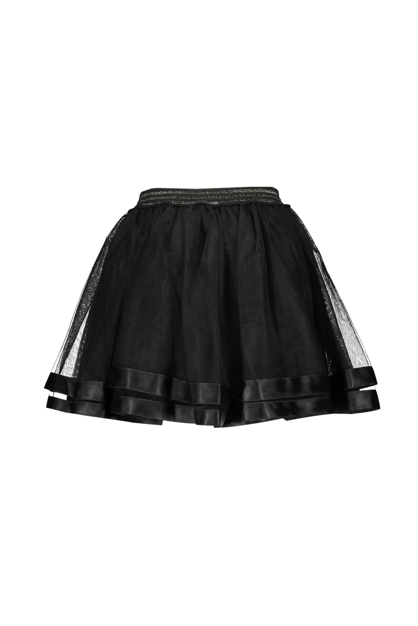 Lily Petticoat Skirt with Satin Trim