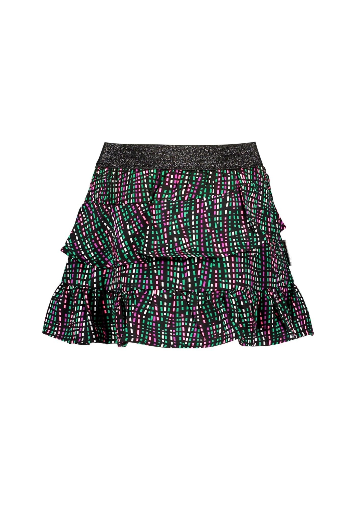 Presley Print Skirt