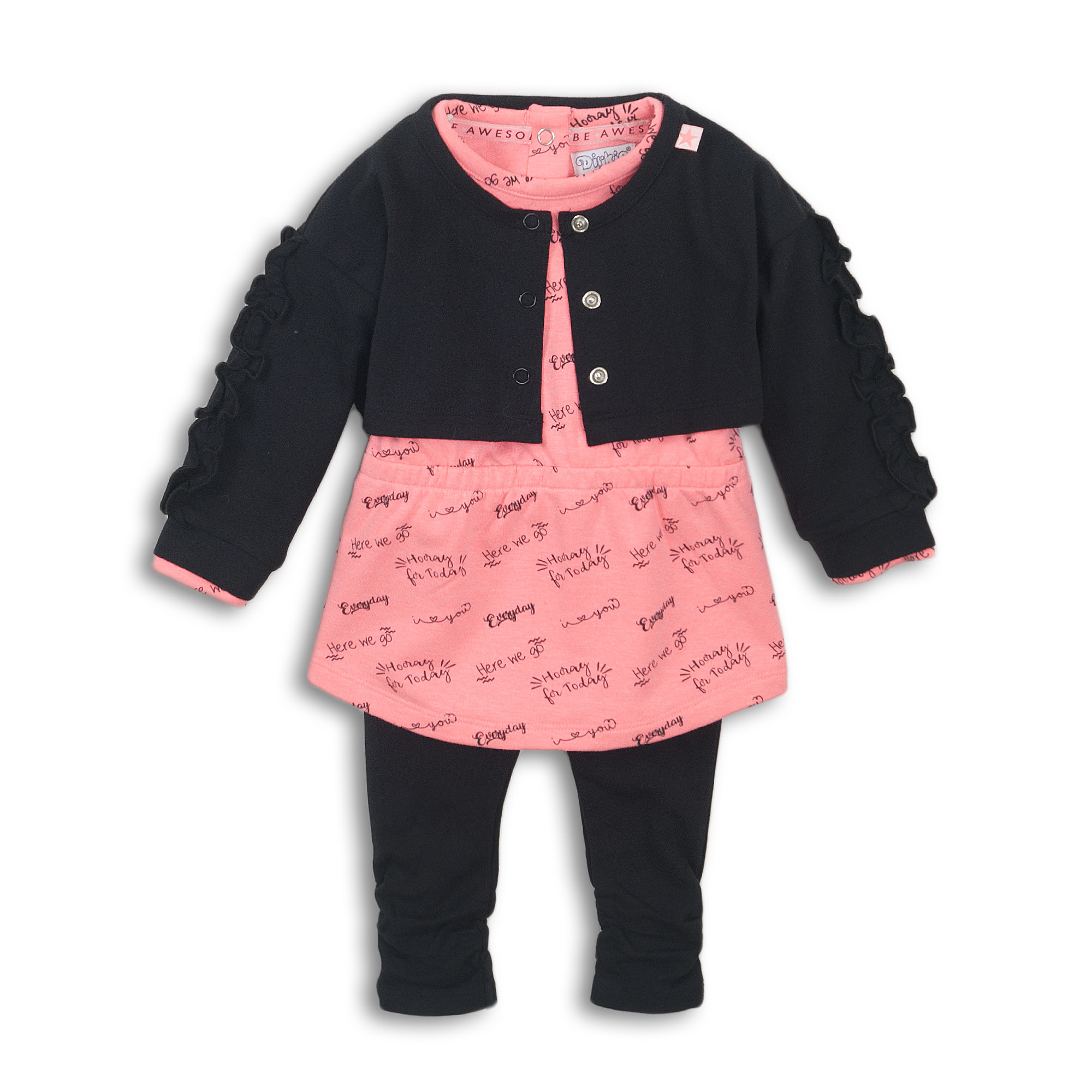 Fiona 3-Piece Baby Outfit