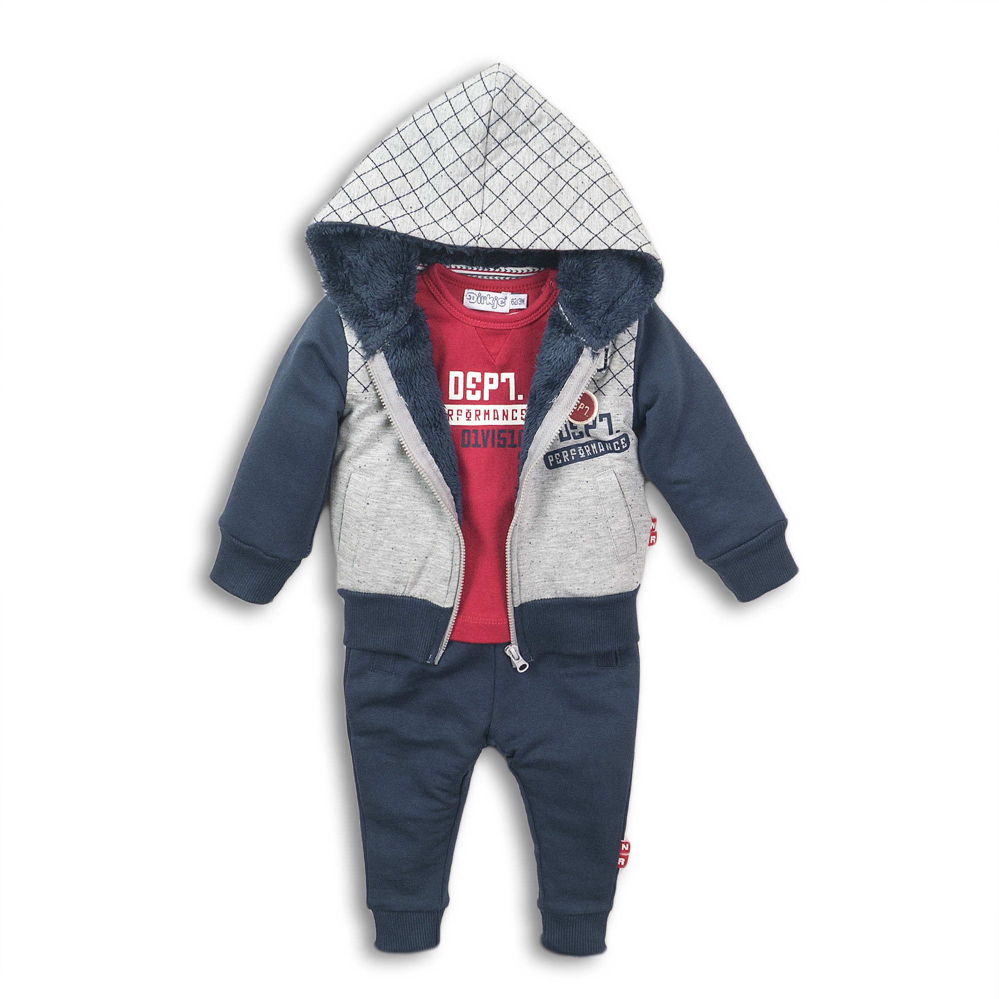 Connor 3-Piece Baby Outfit