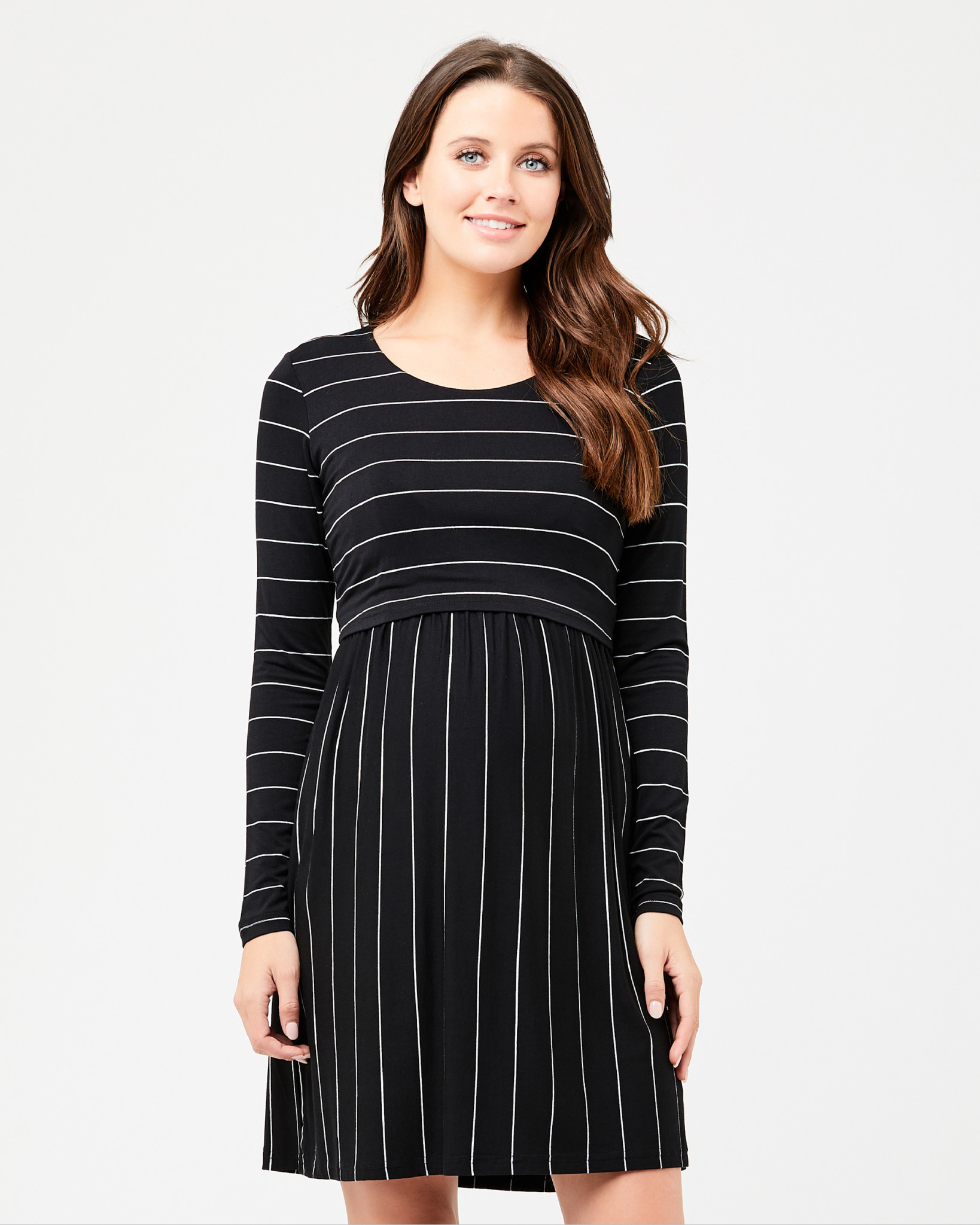 Sylvia Crop Top Nursing Dress
