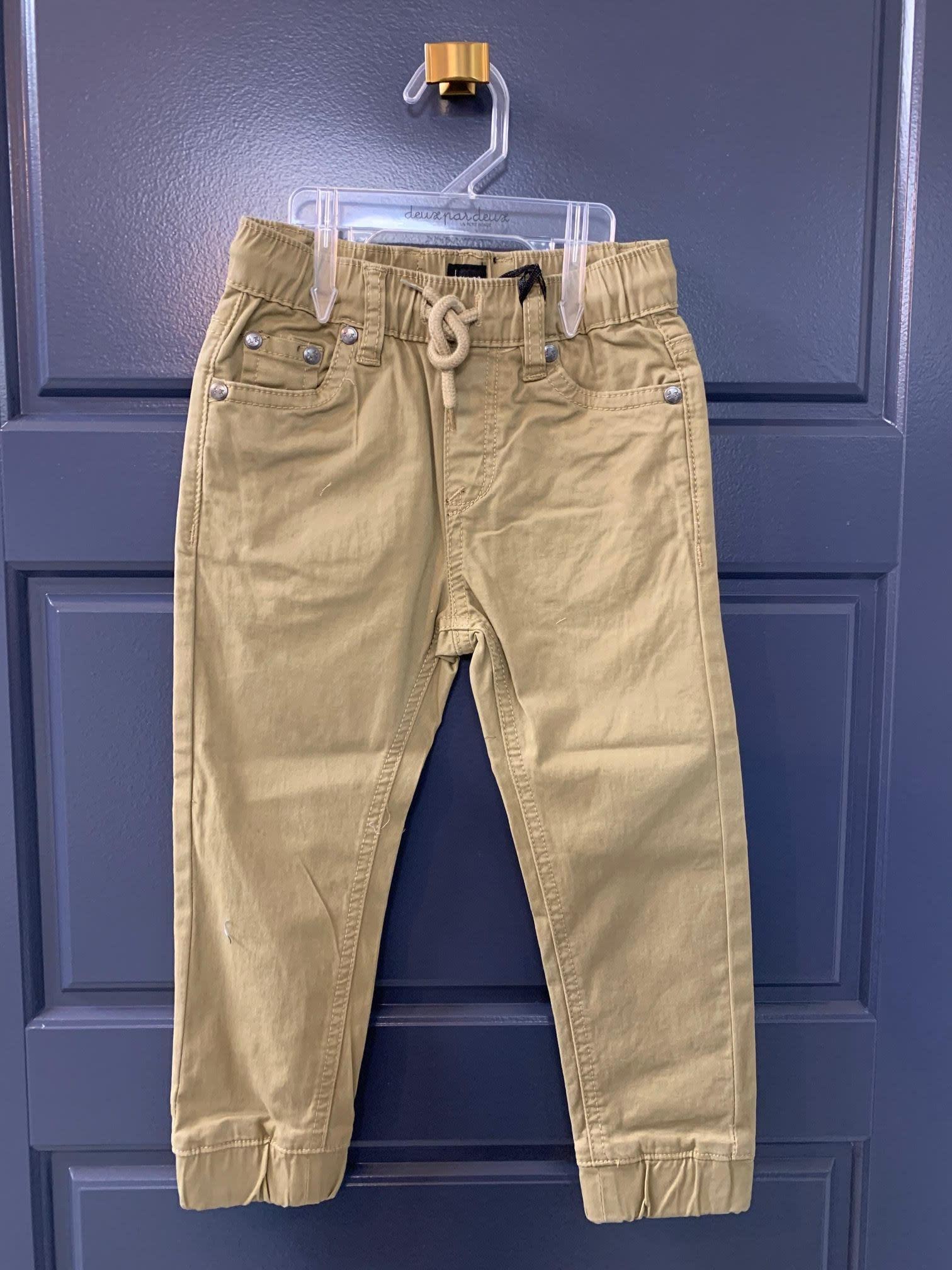 Jogger Jeans - Tan