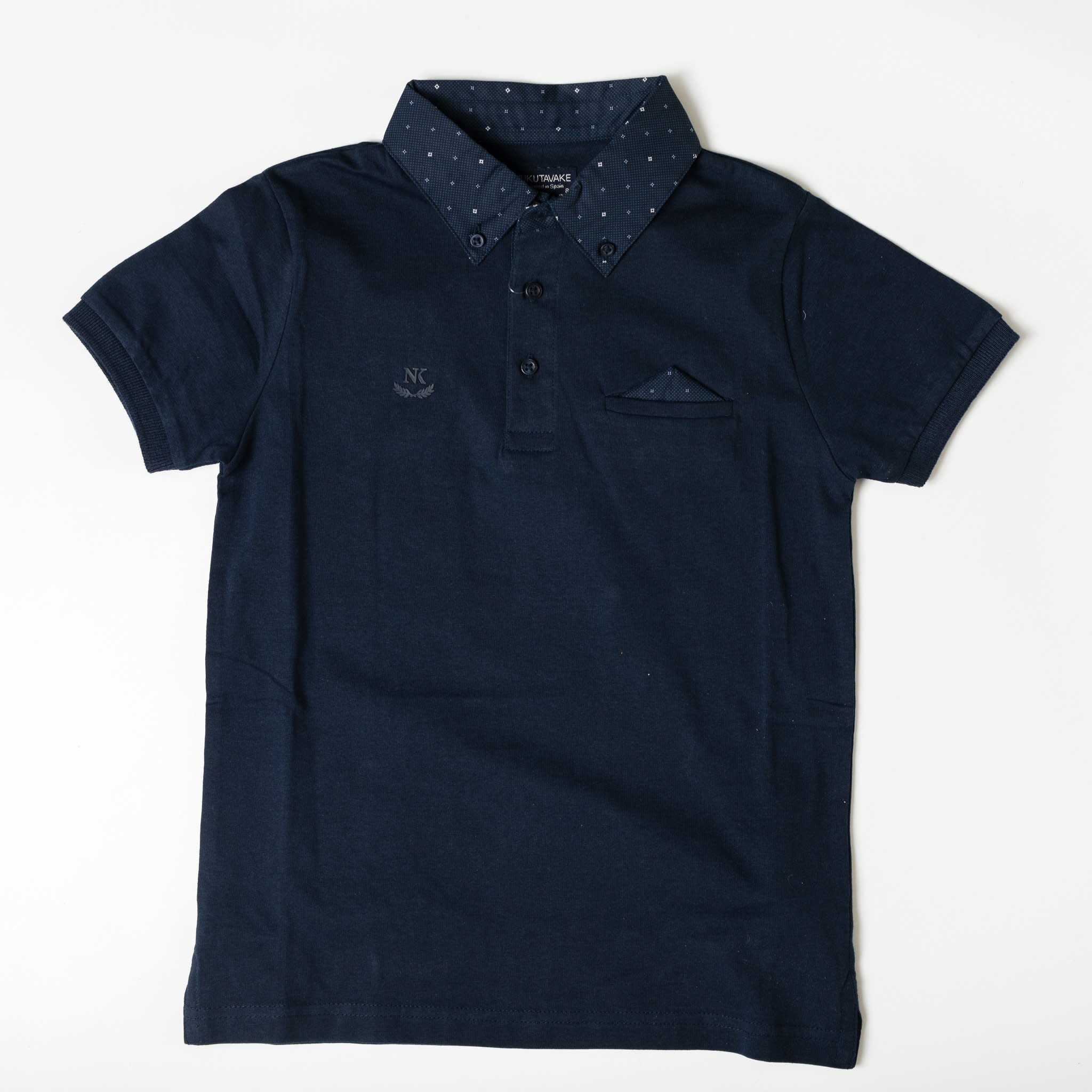 Dressy Polo with Pocket Square