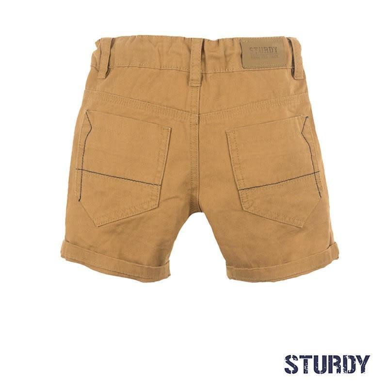 Gold Twill Shorts