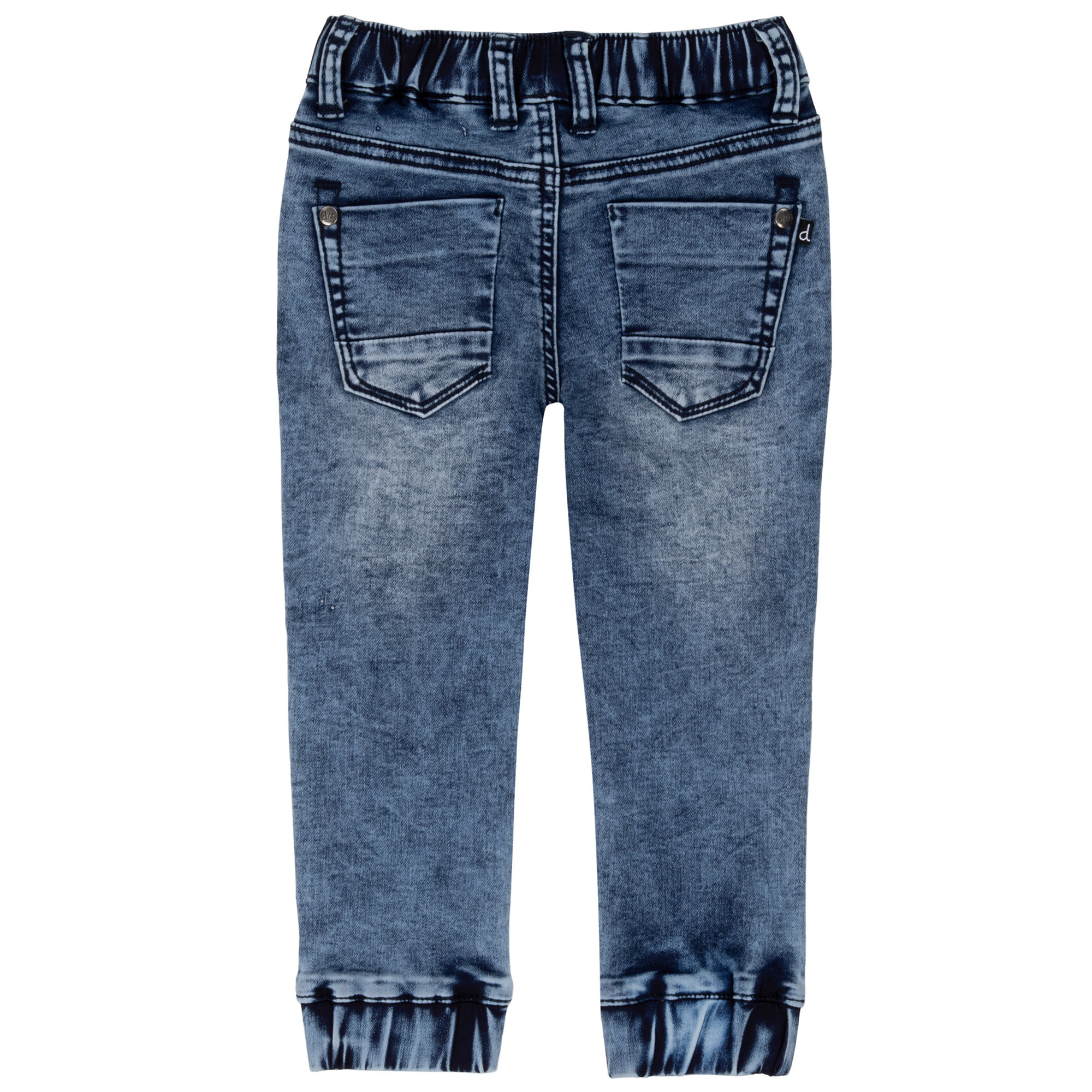 French Terry Denim Jogger