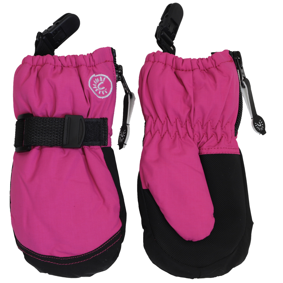 Waterproof Mittens with Clips