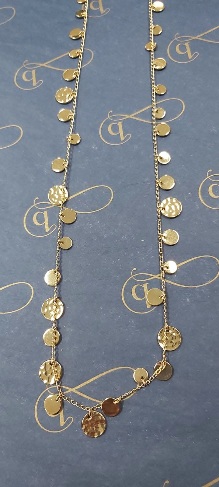 Coin Strand Necklace