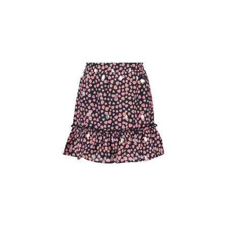Heart Dot Print Skirt