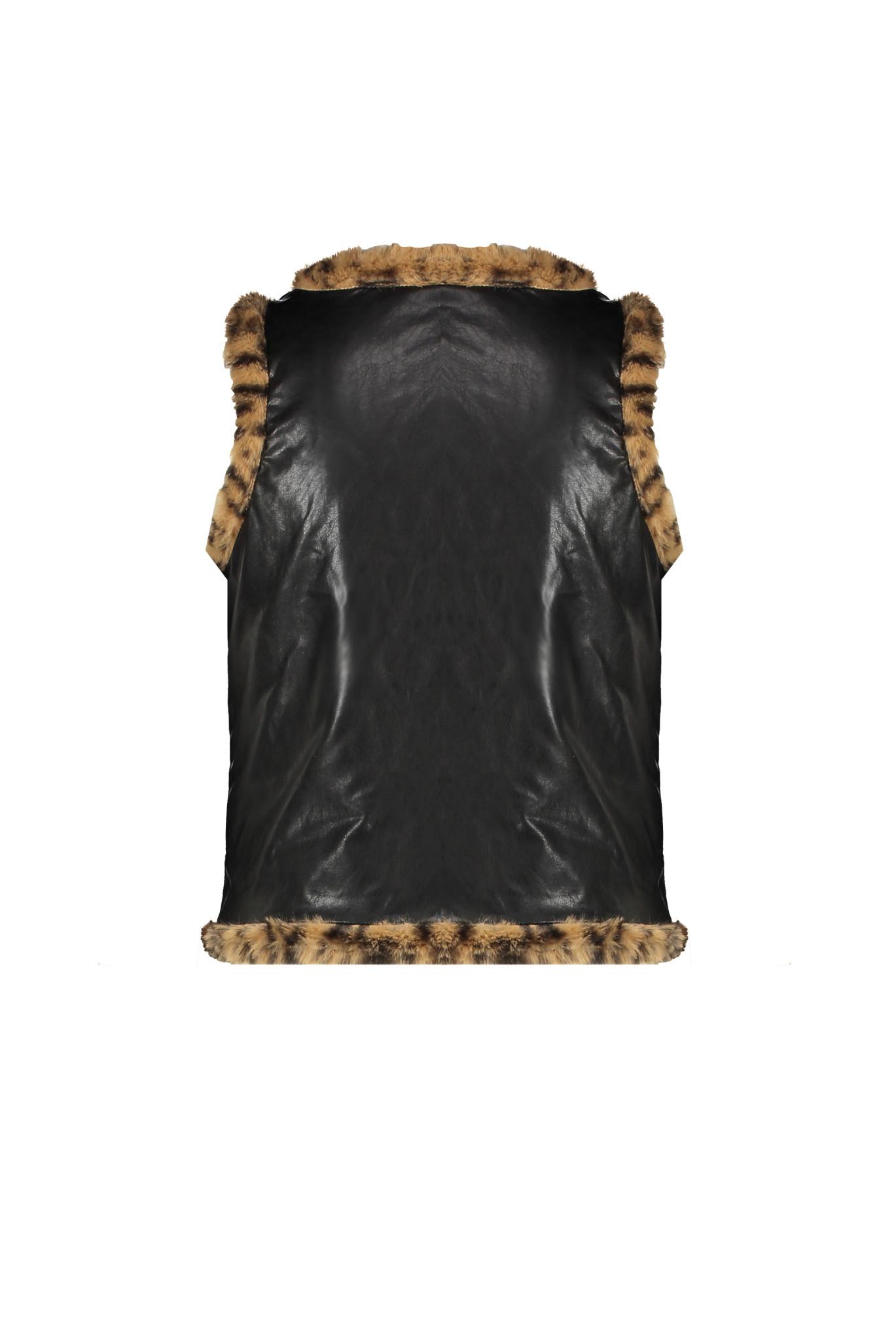 Dima Reversible Faux Fur Vest