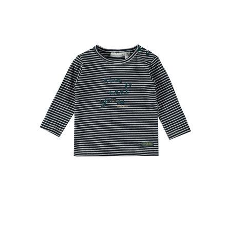 Chad Navy Stripe Shirt