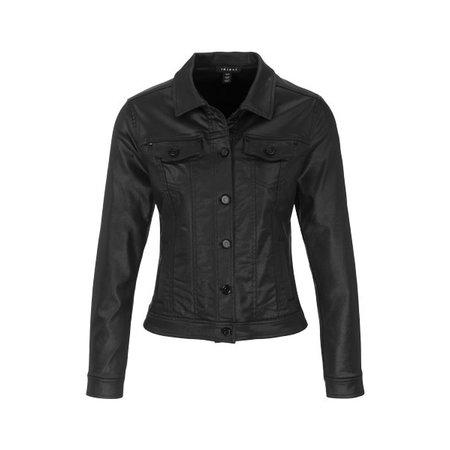 Long Sleeve Coated Jacket