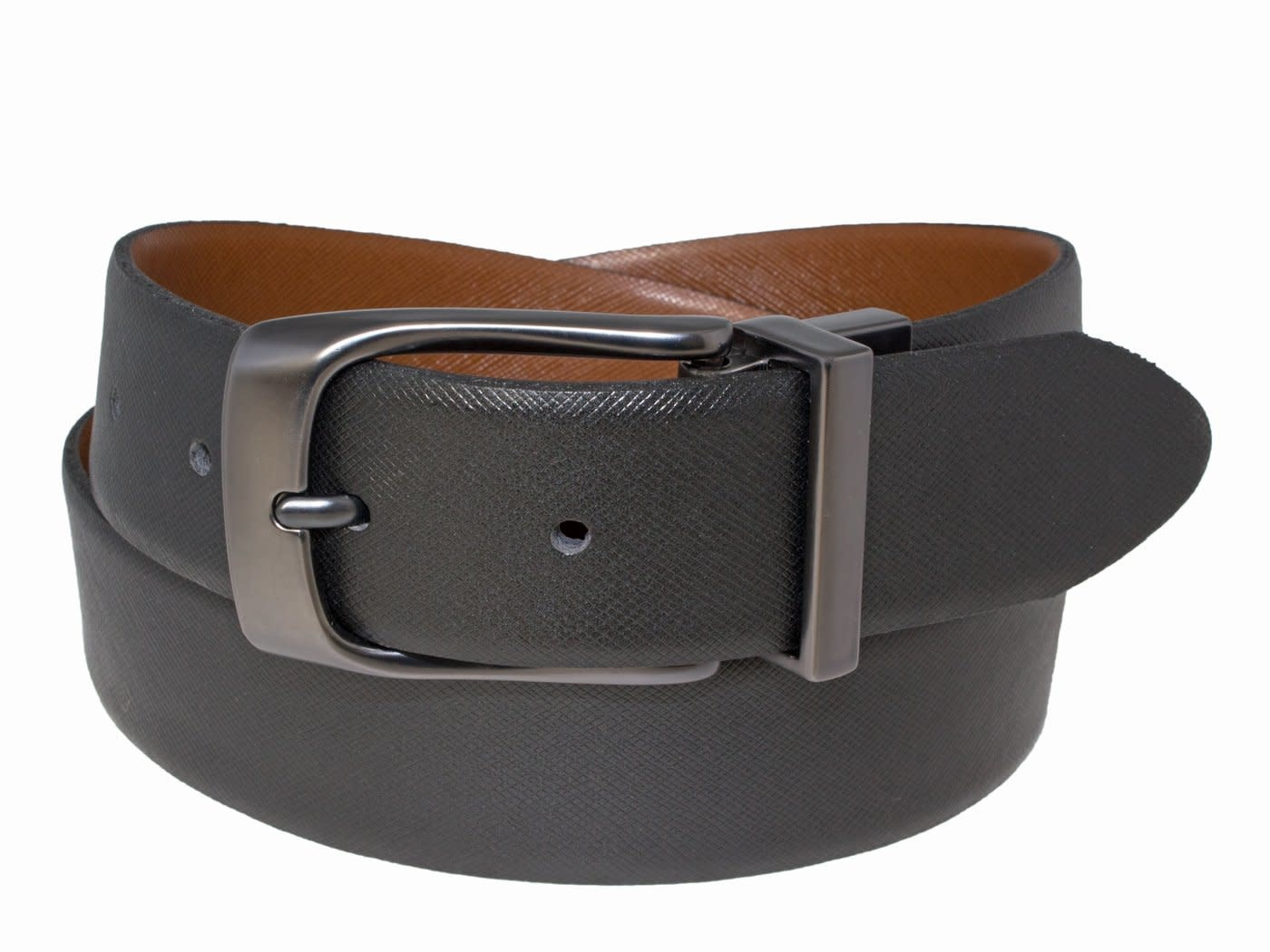 Reversible Belt with Pewter Buckle