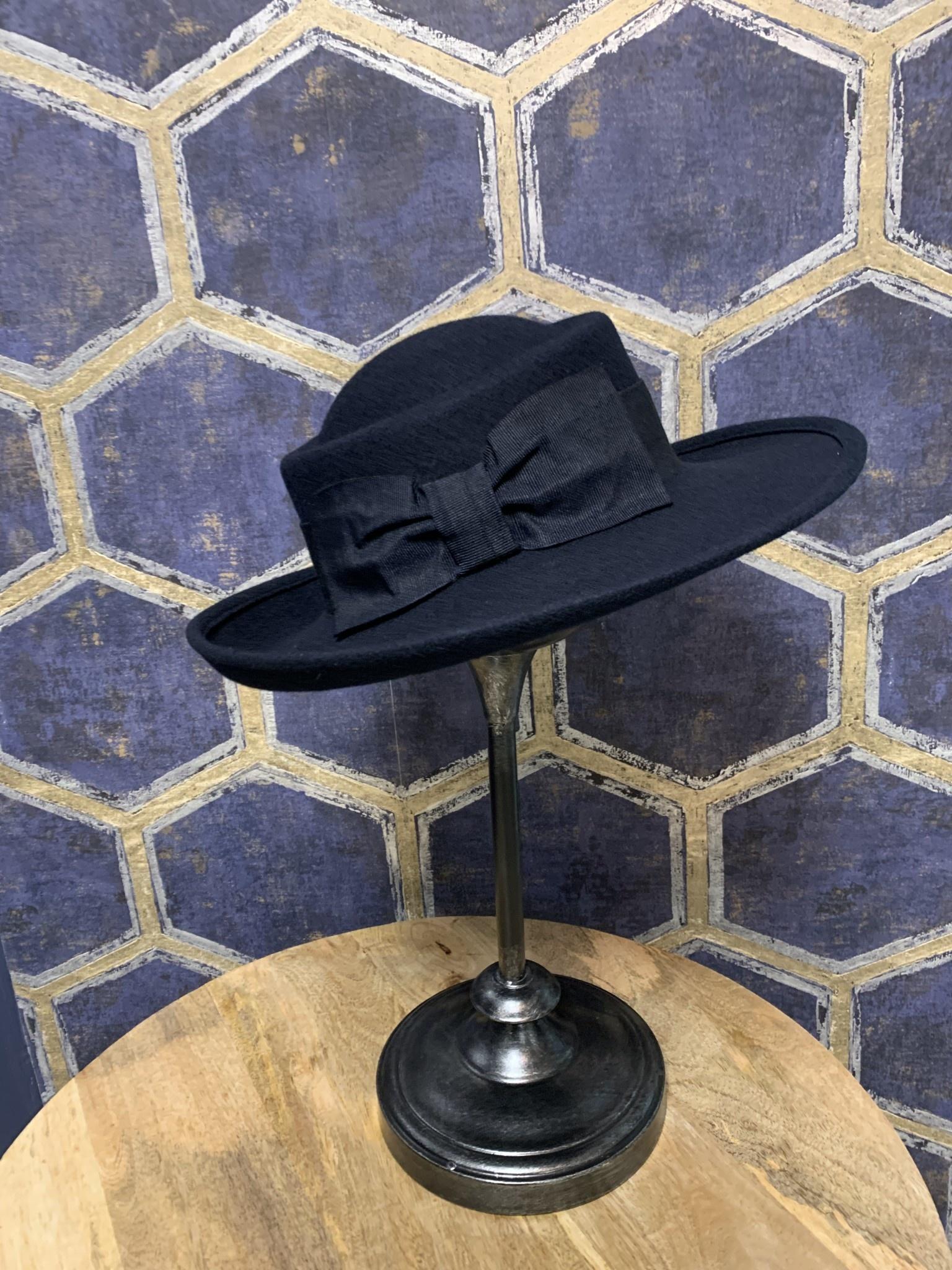 Ladies Navy Hat