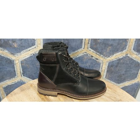 Mens Solara Boots - Black w/ Brown Accents