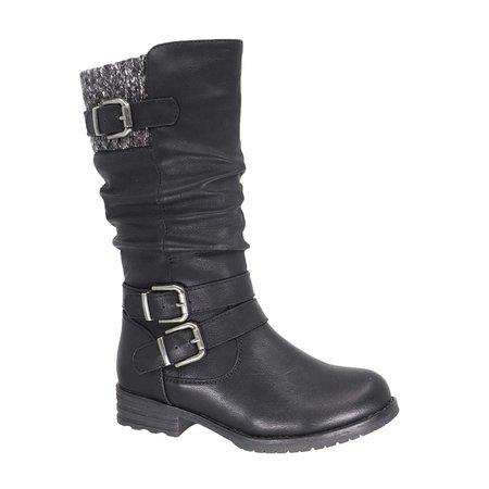 Girls Payton Boot - Black