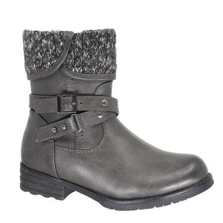 Girls Ava Boots - Grey