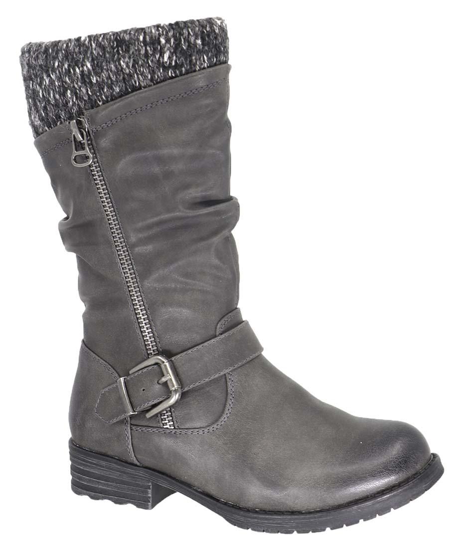 Girls Payton Boot - Grey