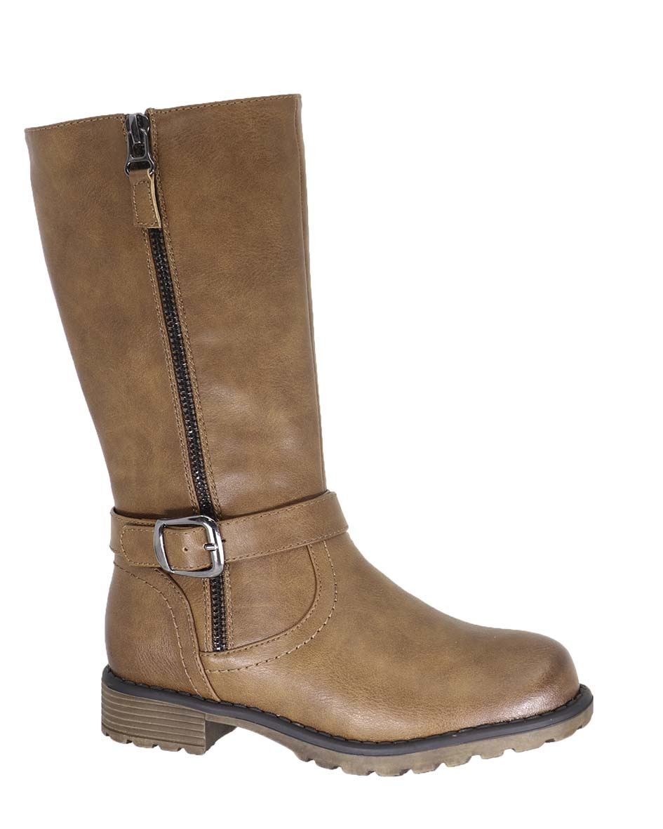 Girls Kelly Boot - Brown