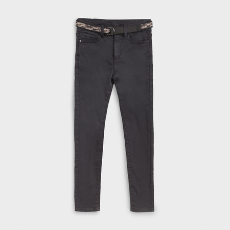 Straight Fit Pant with Belt
