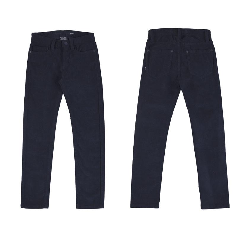 Navy Corduroy Pants
