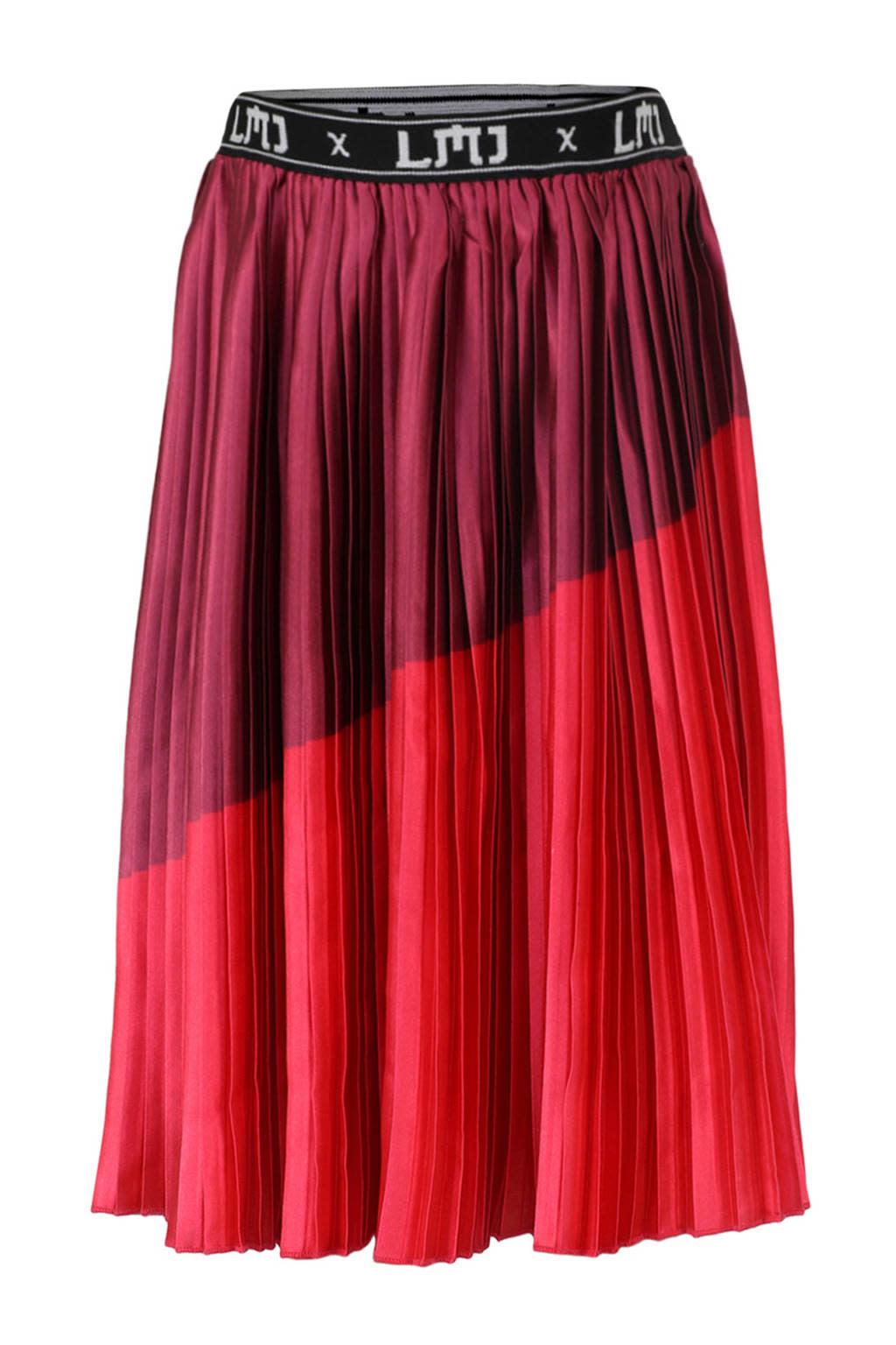 Satin Plisse Skirt