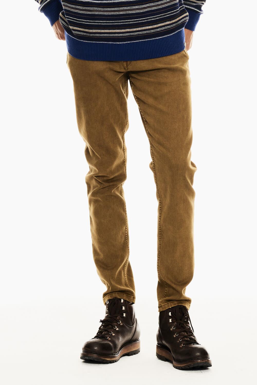 Rocko Jeans - Burnt Amber - Slim Fit