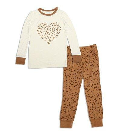 Leopard & Feather PJs