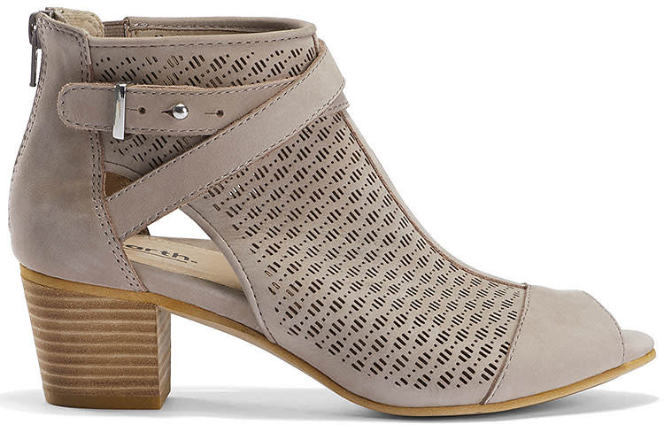 Taupe Perforated Shootie