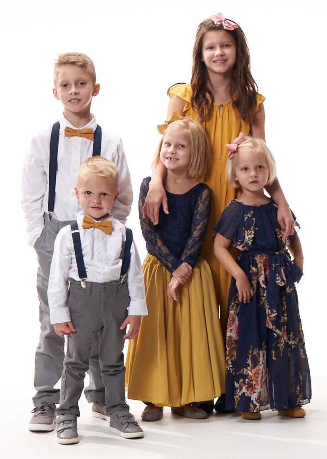 Navy/Mustard Set - Toddler