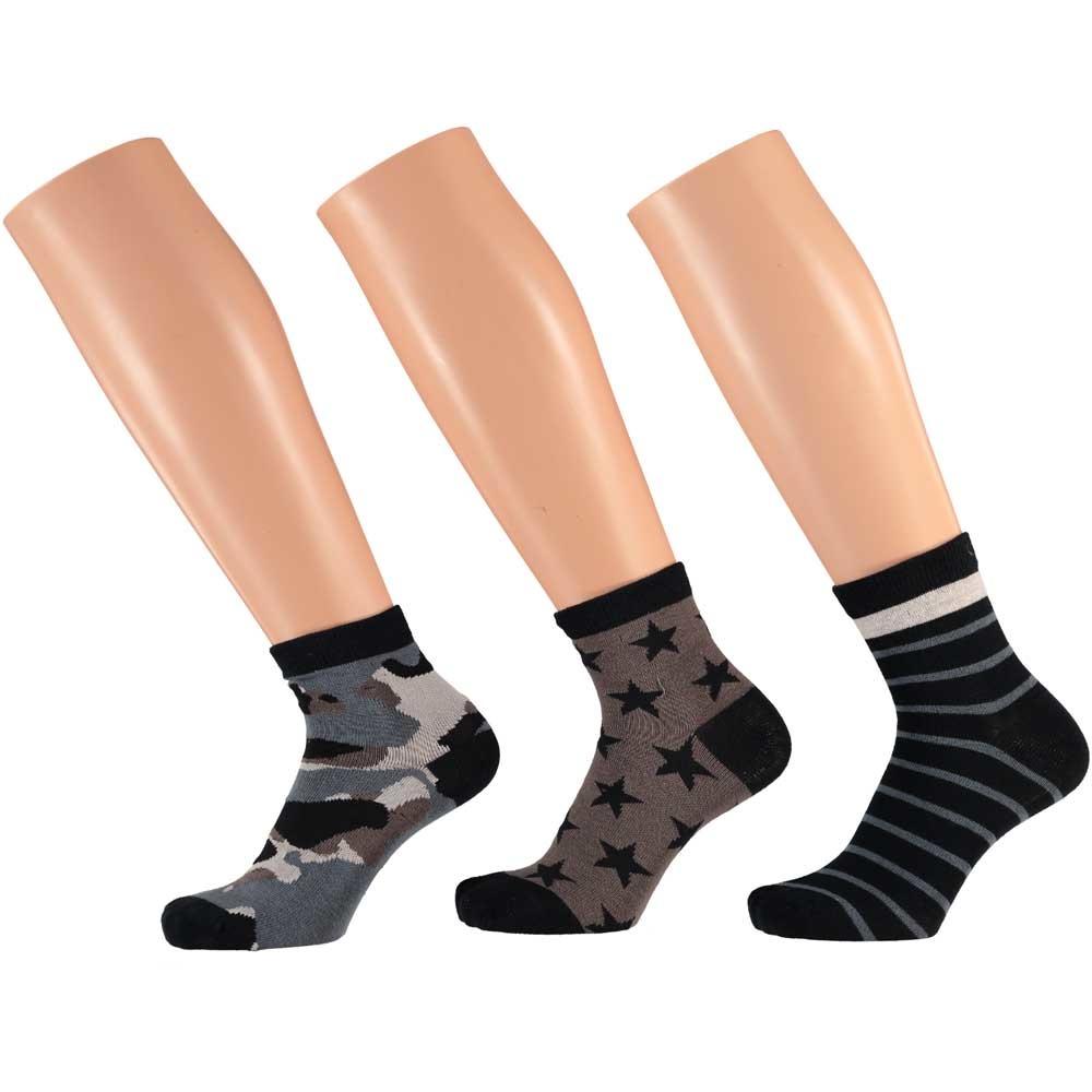 Boys Multi Socks - 3 Pack