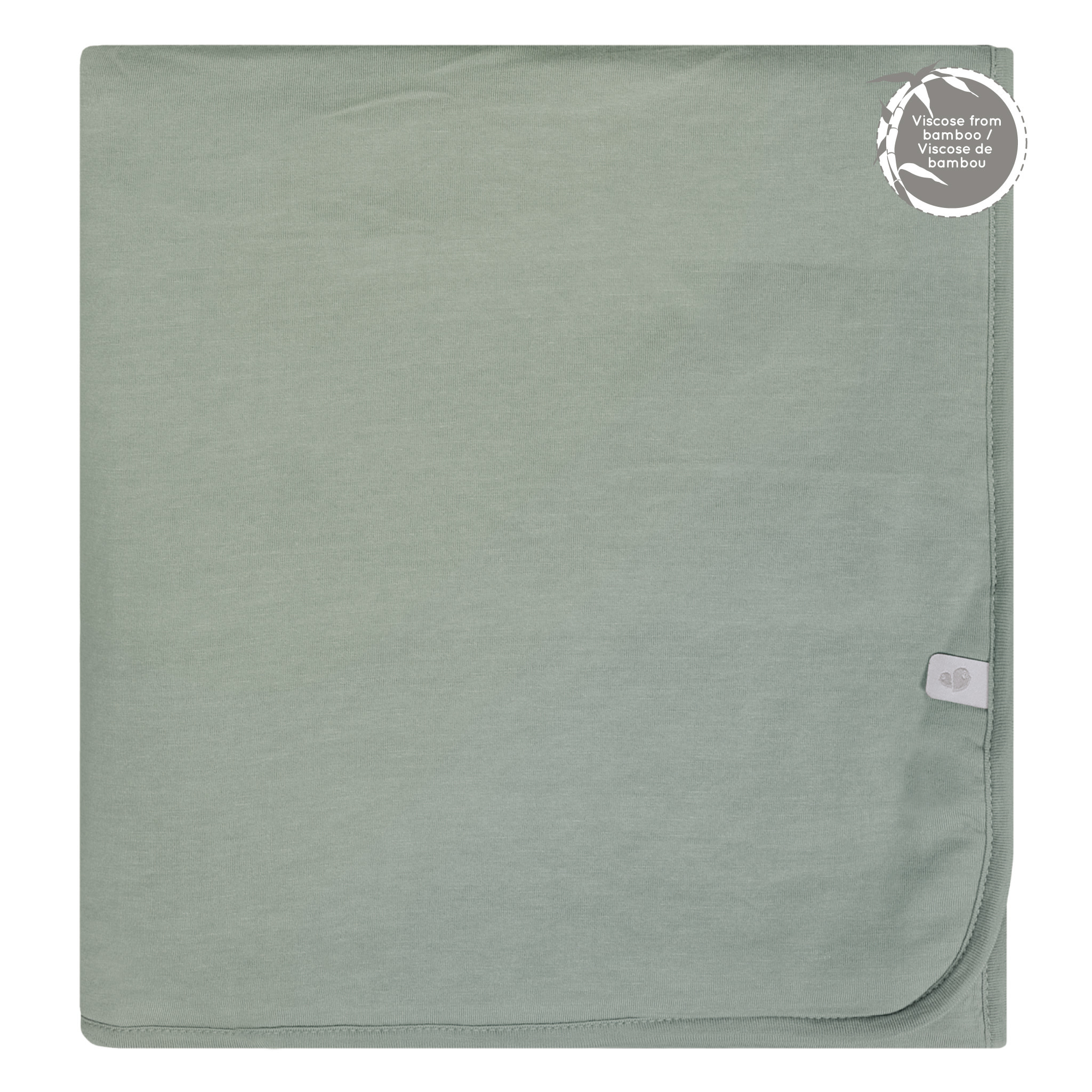 Bamboo Quilted Blanket - Moss Green
