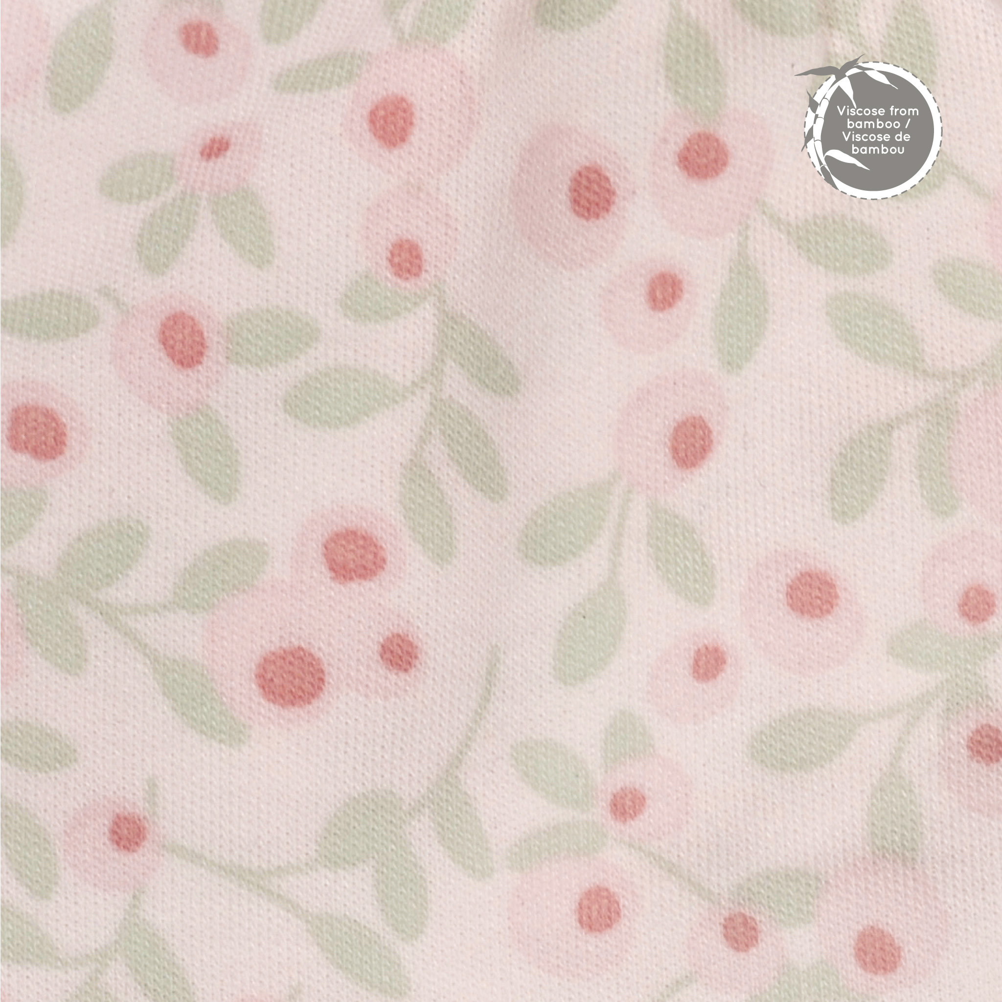 Bamboo Quilted Blanket - Flowers