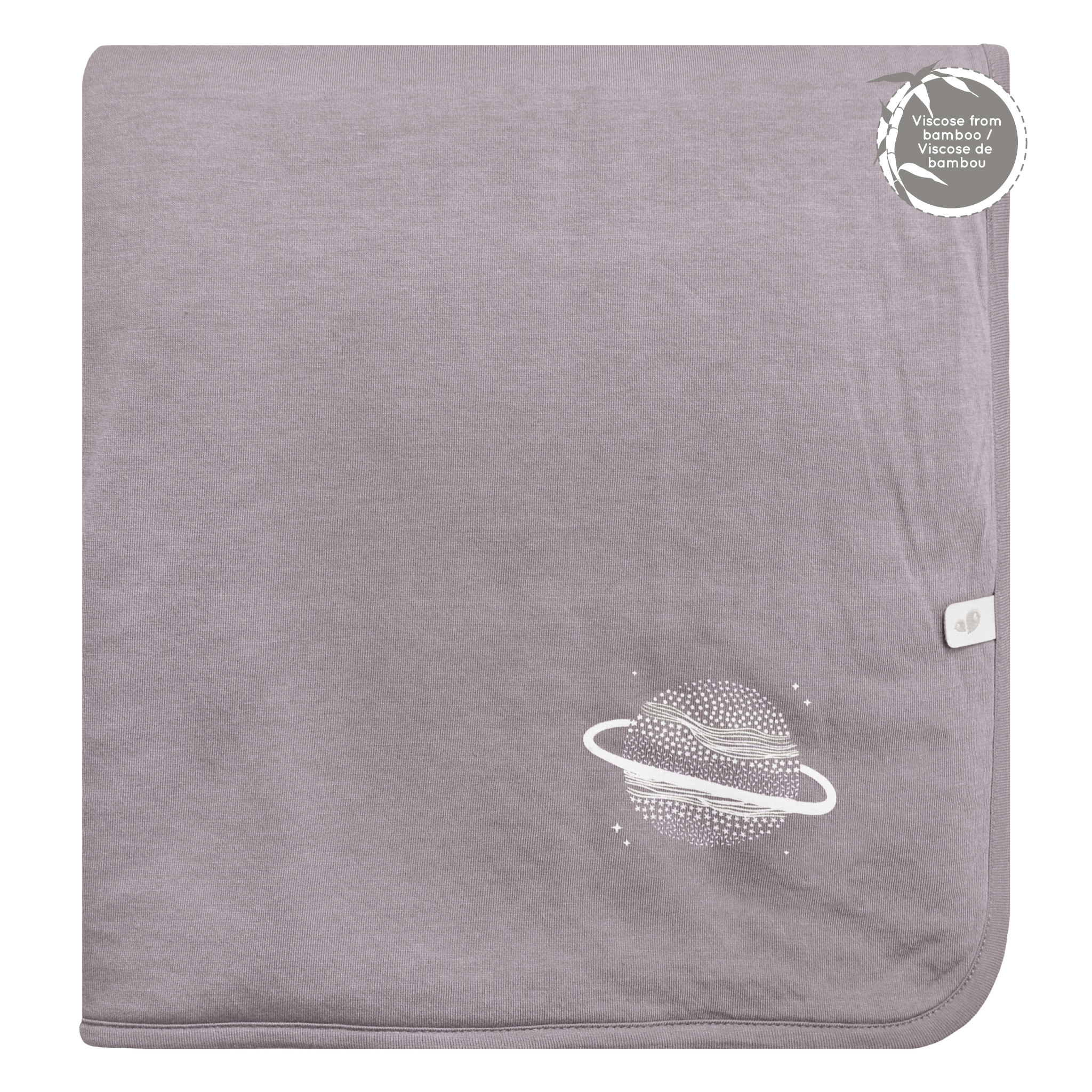 Bamboo Quilted Blanket - Mauve
