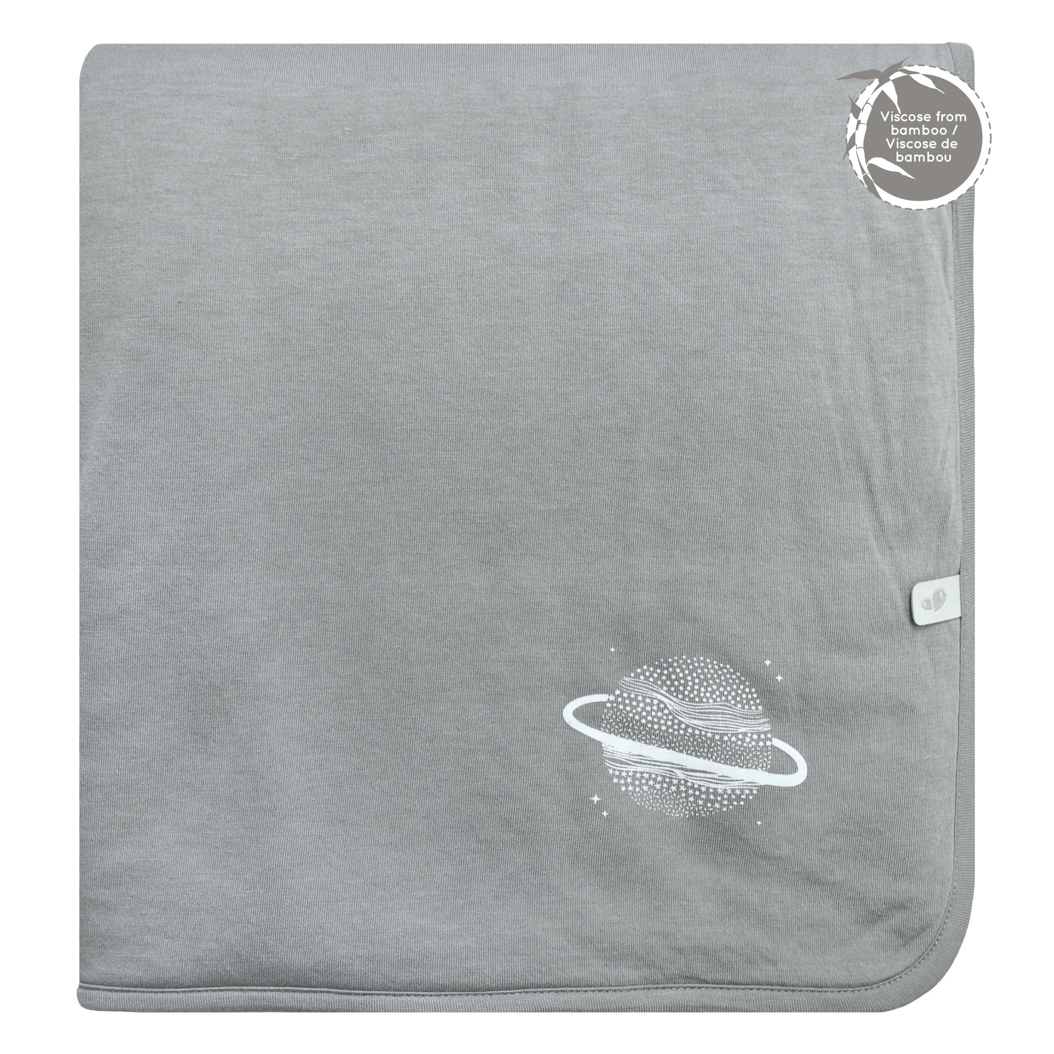Bamboo Quilted Blanket - Grey