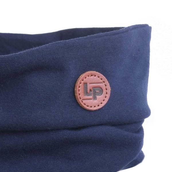 Cotton Loop Scarf - Navy
