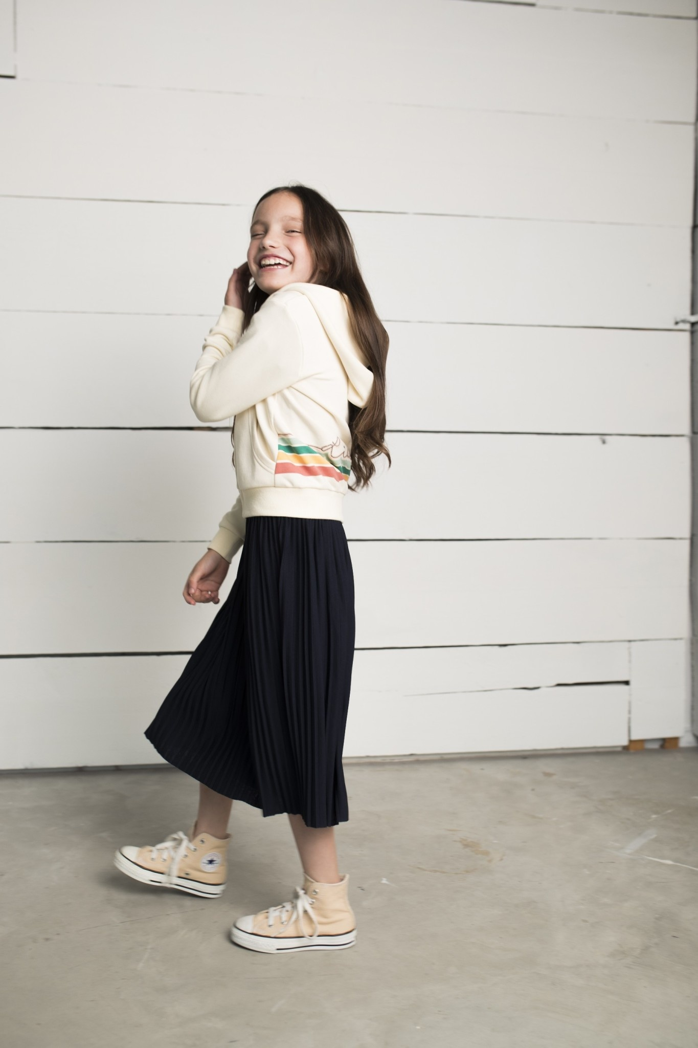 Violetta Plisse Skirt