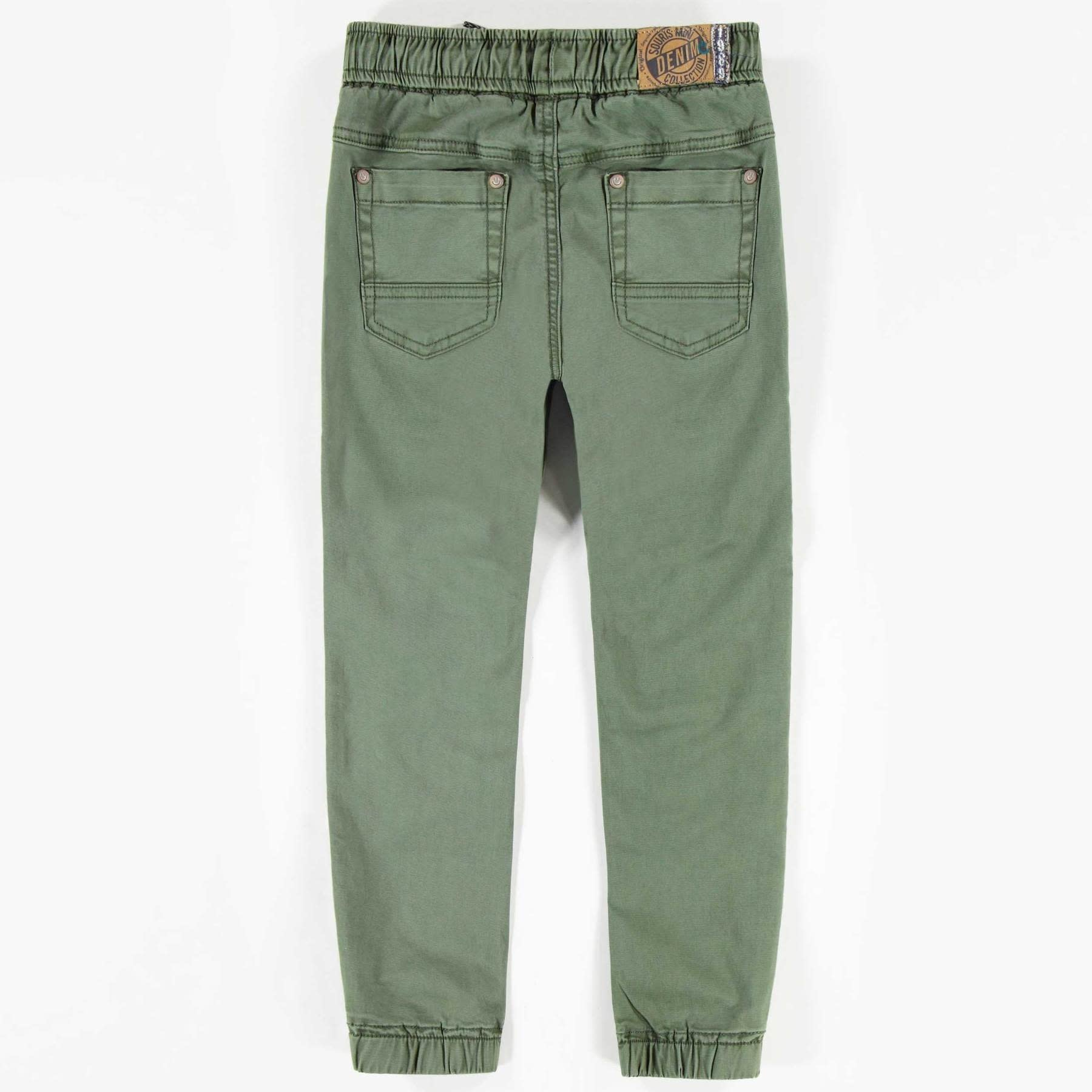 Khaki Denim Pants