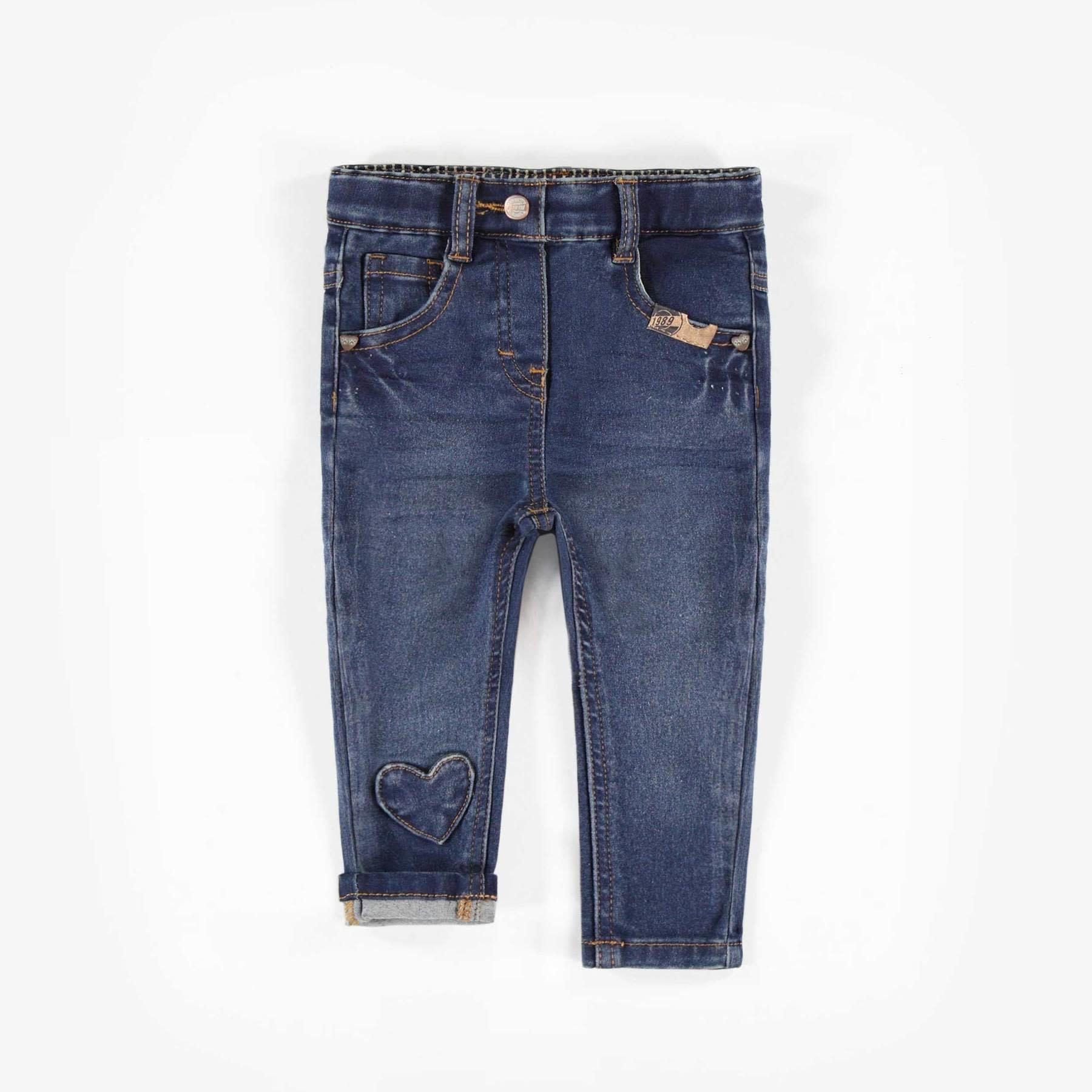 Heart Detail Jeans