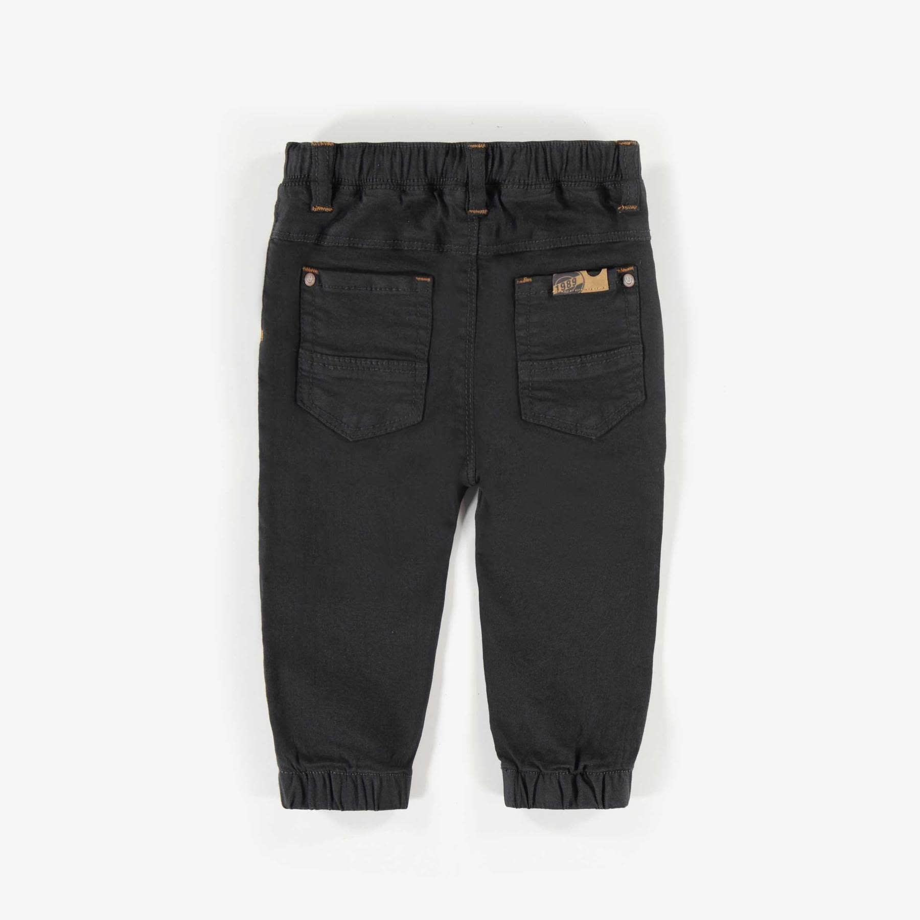 Charcoal Cuffed Jeans