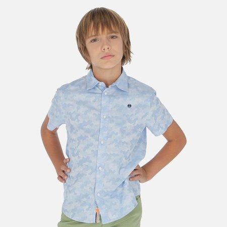 Boys Subtle Camo Dress Shirt