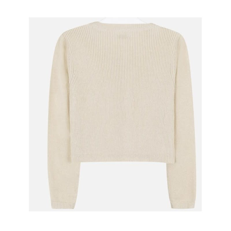 Offwhite Knit Cardigan