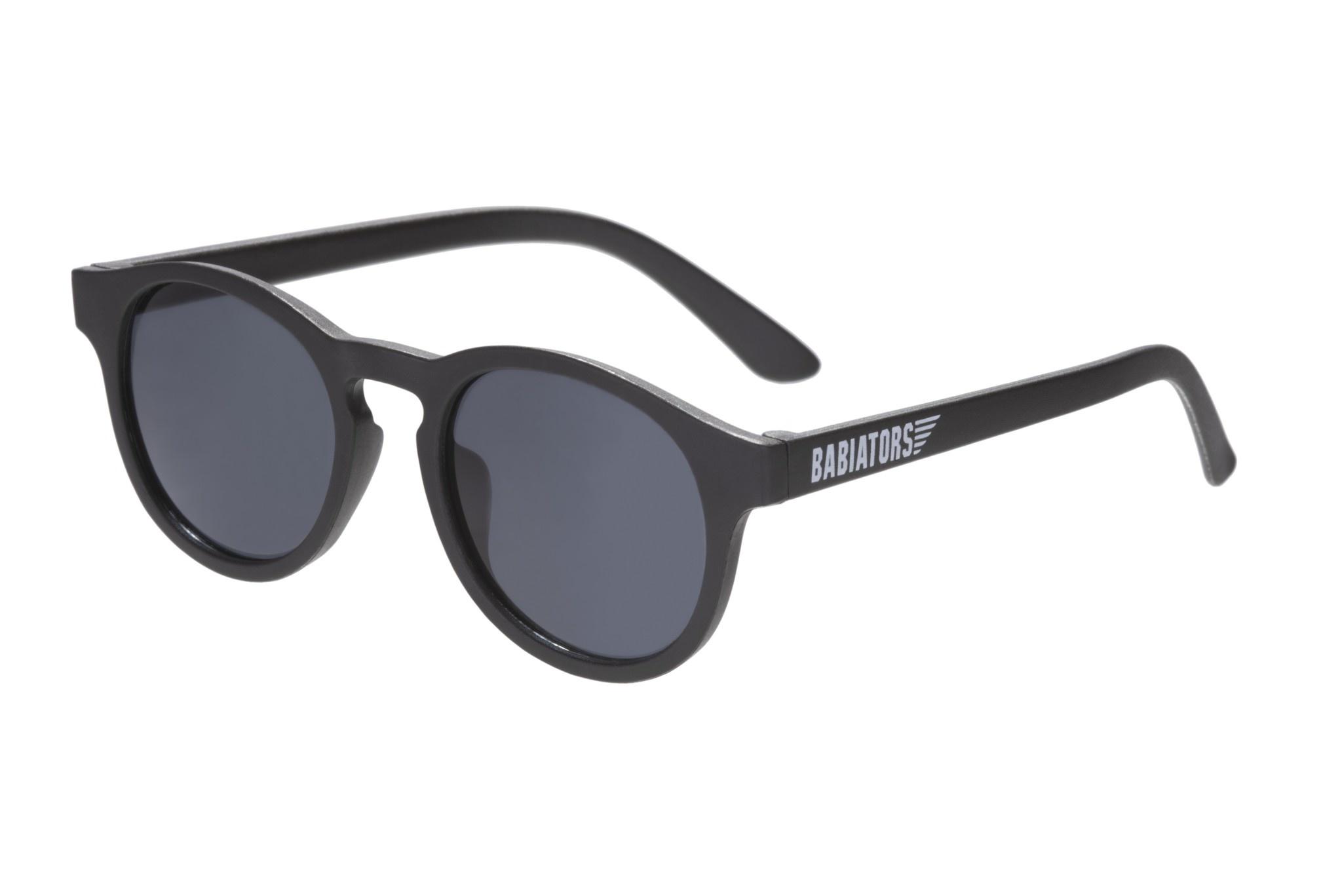 Keyhole Style Sunglasses - Black Ops Black